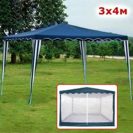 Садовый шатер 3х4м синий