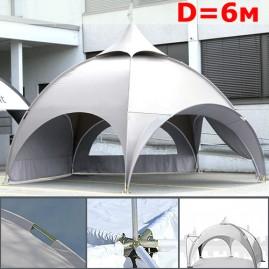 Шатер Dome  6 м белый