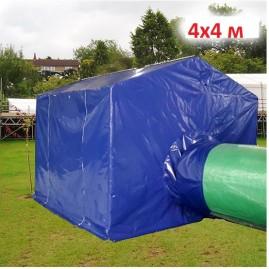 Палатка для сварщика 4х4м синий