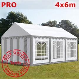 Шатер Giza Garden 4 x6 серо- белый PRO