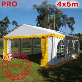 Шатер Giza Garden 4 x6 желто-белый PRO